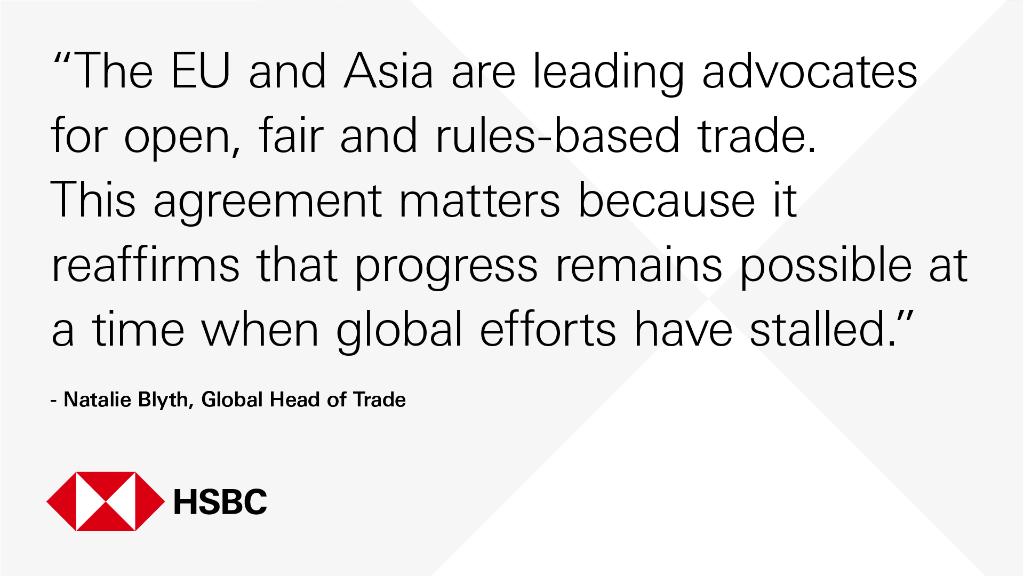 Hsbc Todays Signing Of The Eu Singapore Free Trade