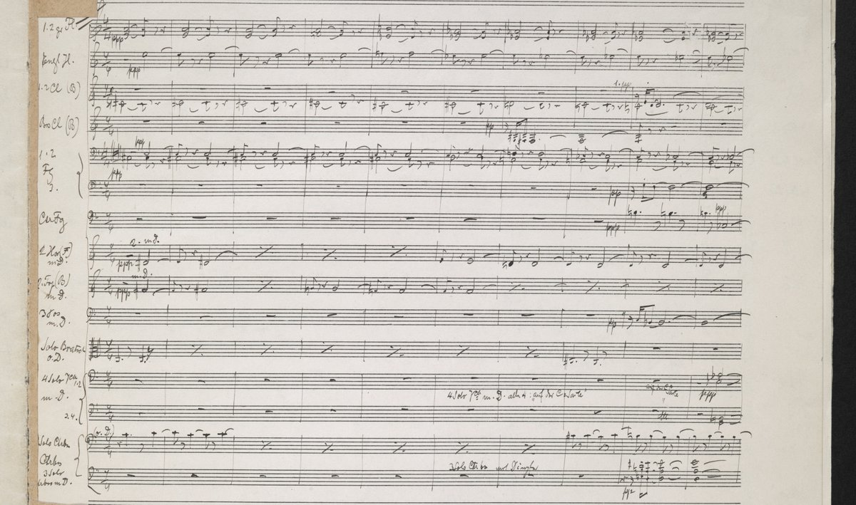 five orchestral pieces