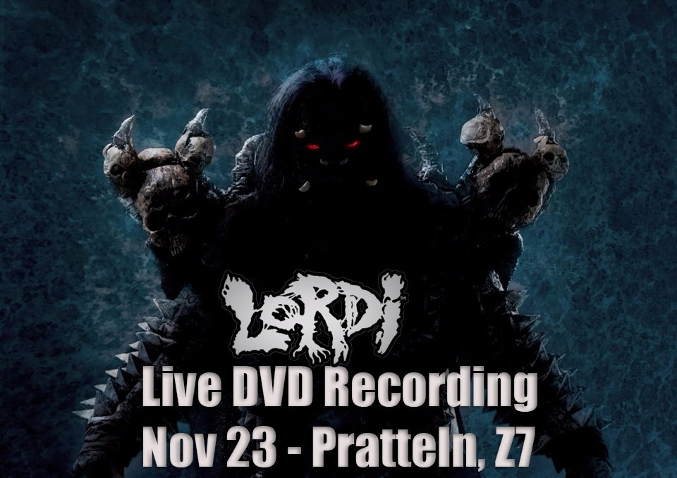 Official #Lordi live DVD shoot in #Pratteln Z7 on November 23rd! Read more at: https://t.co/EykoptagZM https://t.co/SpKOTDgIZl