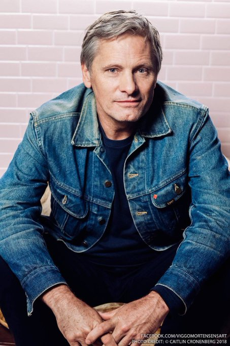 Happy Birthday to Viggo Mortensen!   Photo by Caitlin Cronenberg,  Toronto International Film Festival 2018