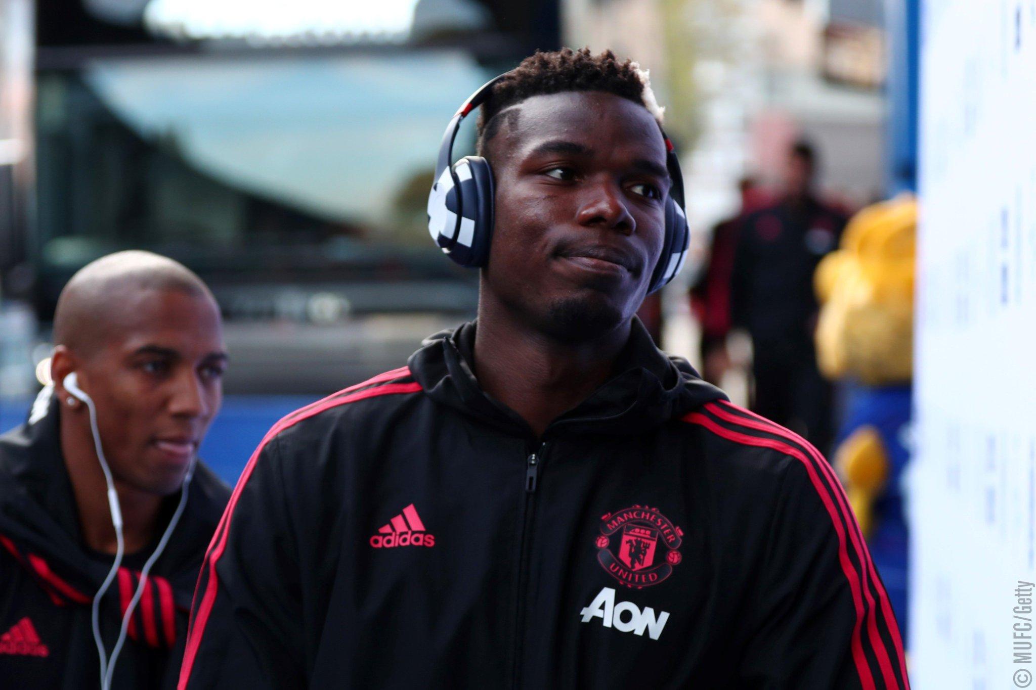 �� @PaulPogba's pre-match playlist is pumping ��   #MUFC #CHEMUN https://t.co/BtQv1eqLxW