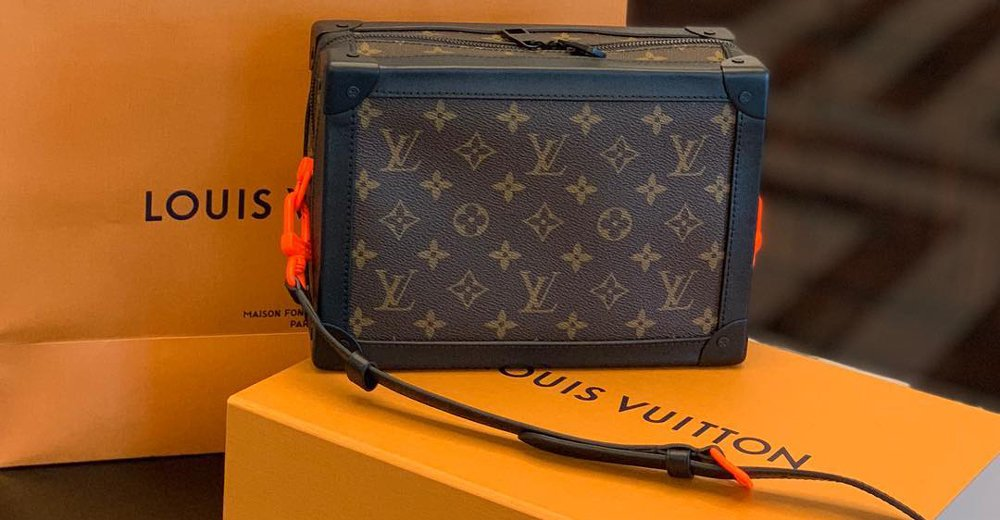2edfa44819a2 first virgil abloh designed louisvuitton pieces are already hitting  flagship stores