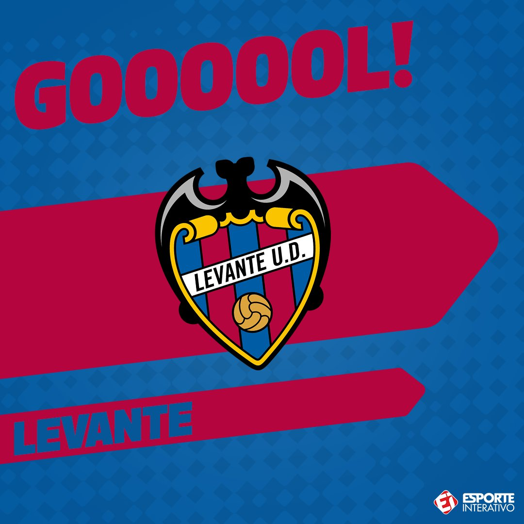 GOOOOOOOOOOOOOOOOOOOOOL DO @LevanteUD! Morales abre o placar dentro do Santiago Bernabéu em uma bonita jogada! Que fase pros merengues... Real 0 x 1 Levante!