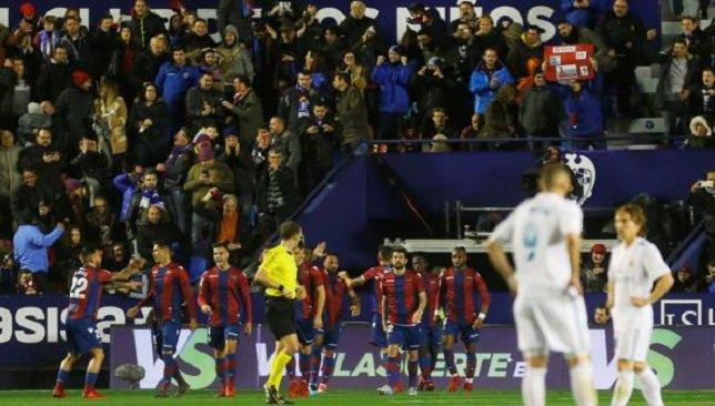 هدف ليفانتي الأول في شباك ريال مدريد
