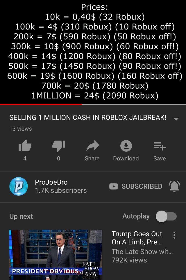 Roblox Jailbreak Car Prices
