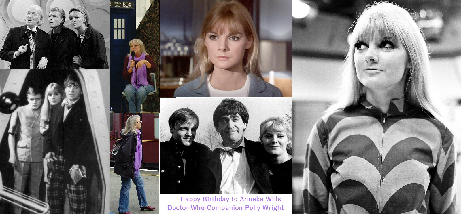 Happy Birthday to Anneke Wills today! - Doctor Who Companion Polly Wright