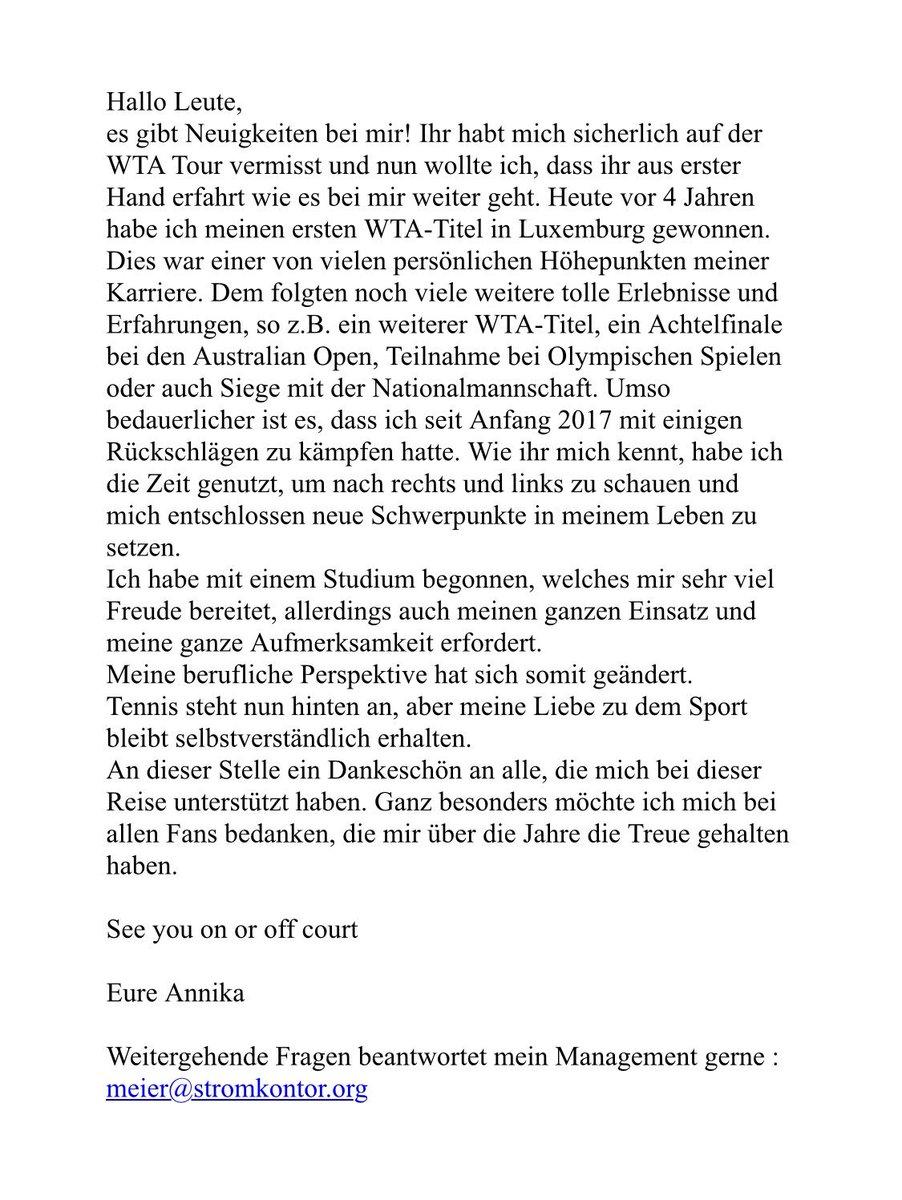 Annika Beck @BeckAnnika