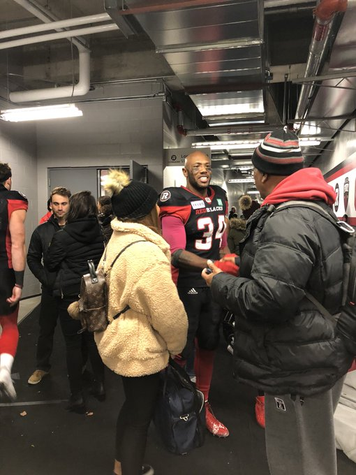 Still buzzing from last night's @REDBLACKS game. Our team. Our city. Our fans. #TheBest #RNation ❤️🖤 Photo