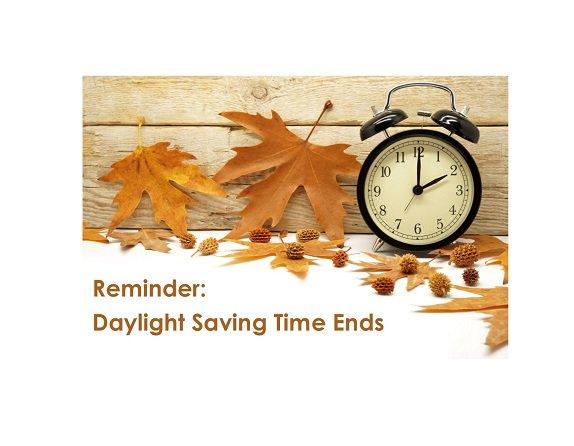 Sunday, November 4th - aren't reminders just da best?