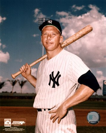 Happy Birthday Mickey Mantle My childhood hero. I m sure I m not alone