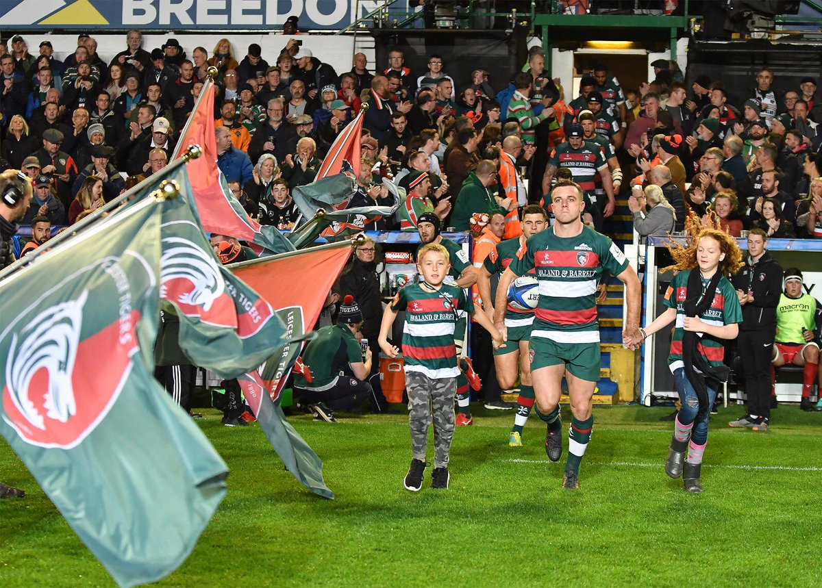 Good bounce back after last week. Great Friday night at Welford Road 🐅