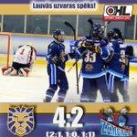 "Image for the Tweet beginning: Uzvara!!!🚨🚨🚨 #hsriga ""Optibet hokeja līgas"""