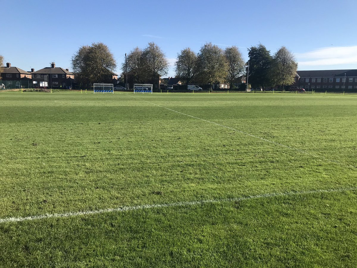 Pitch looking well at Grange Sports for our Reserves v @MaryDendyFC in the @northerncup82 Round 1 @CheshireFL @WG_Sport