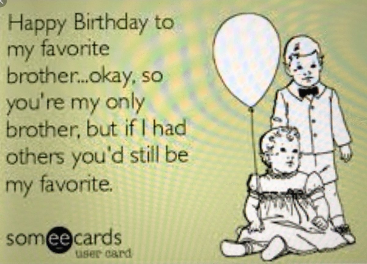 Happy Birthday Brother Someecards Www Topsimages Com