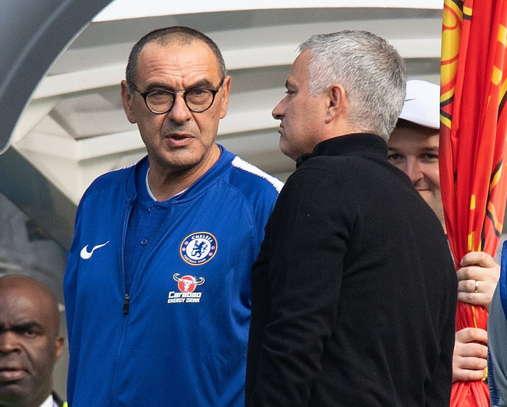 Maurizio Sarri is the first manager in Chelsea's history to remain unbeaten in his first nine Premier League games in charge.  A dramatic way for it to happen. 😳