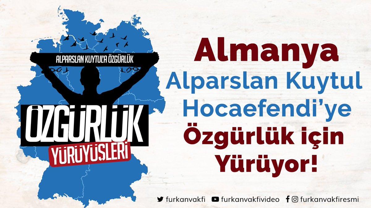 Furkan Vakfı's photo on #ÖzgürlükYürüyüşleriAlmanyada