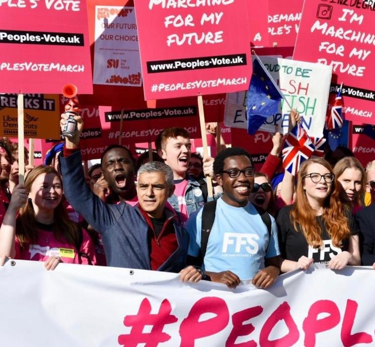 A bad Brexit could have a huge impact on Londoners. I'm marching today because we need a public vote on the final deal. #PeoplesVote #PeoplesVoteMarch