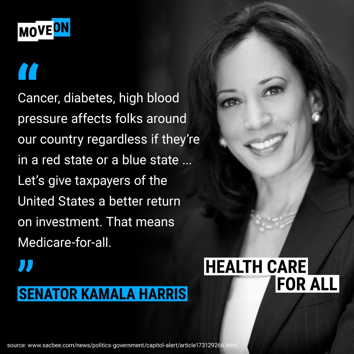 Do you know someone with cancer, diabetes, high blood pressure, etc? Don't put their fate in the hands of corporate America. Support #MedicareForAll & end  con@GOPtrol of the House on 11/6: https://t.co/git4PDTH1G