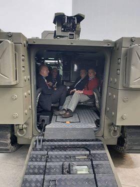 بوادر تعاون في التصنيع العسكري بين اوتوكار التركيه وشركة الصناعات الحربيه العراقيه  Dp9_fjvXcAAbHgw