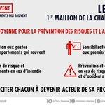 Image for the Tweet beginning: ⛑️💪Pour faire face au danger,