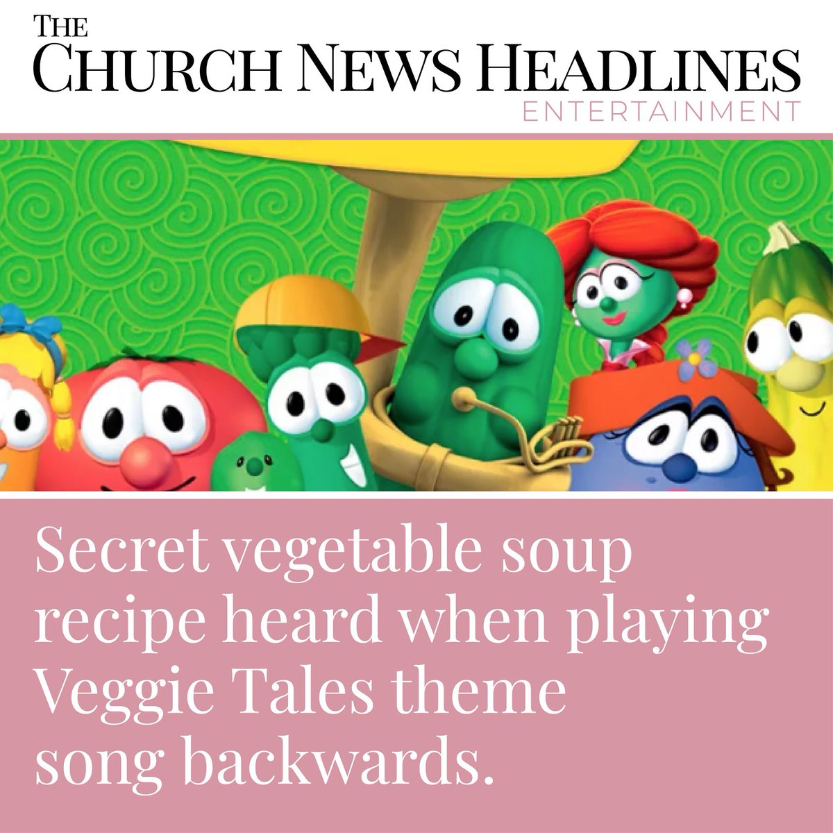 Uzivatel The Church News Headlines Na Twitteru Secret Vegetable