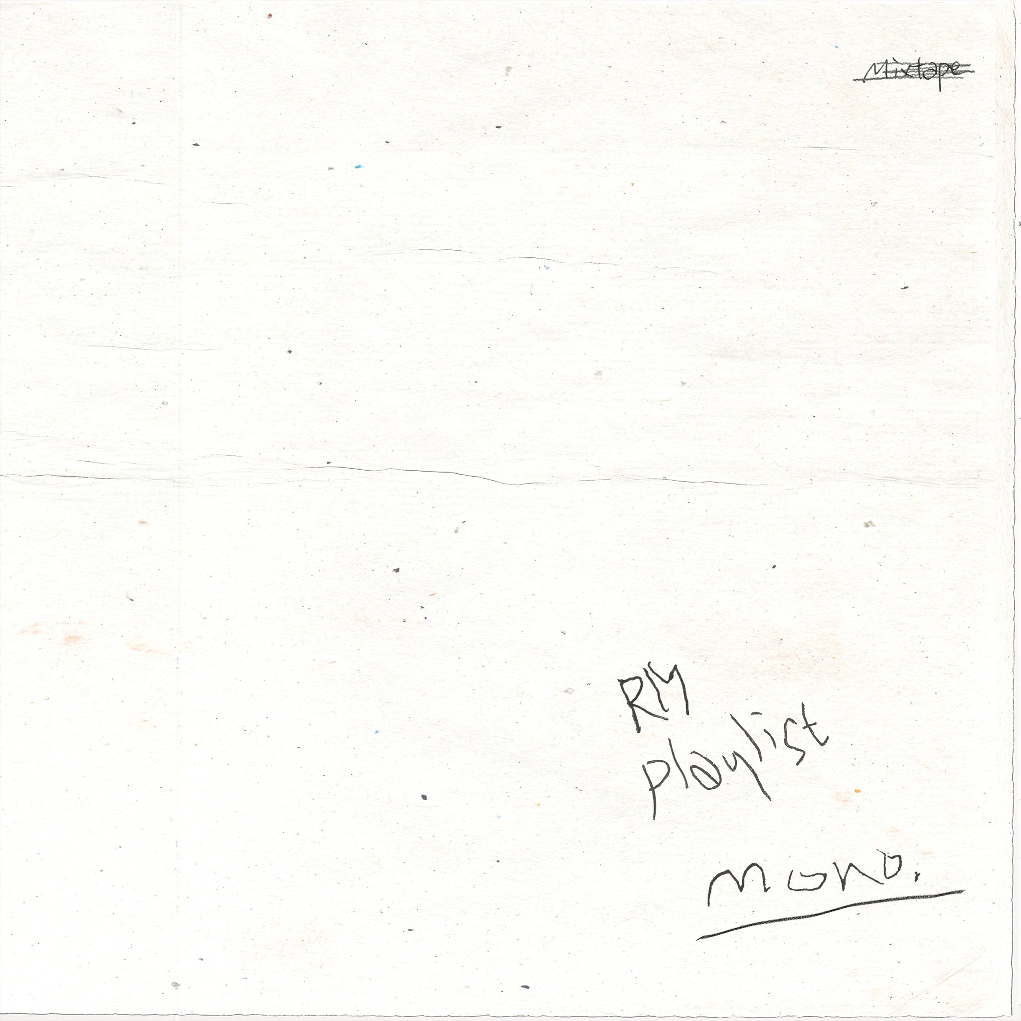 DL/STREAMING] RM – Mono [181023] |