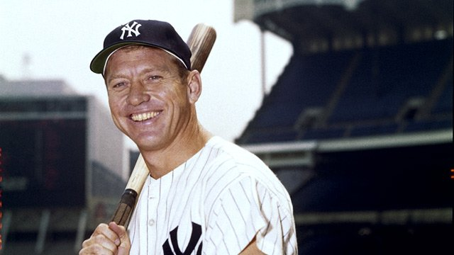 Happy Birthday to Yankees Legend, Mickey Mantle!