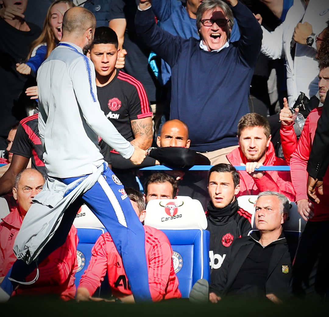 Marco Ianni, asistente del Chelsea, se burló de Mourinho