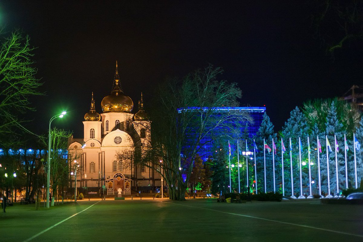 Картинки города краснодара красивые