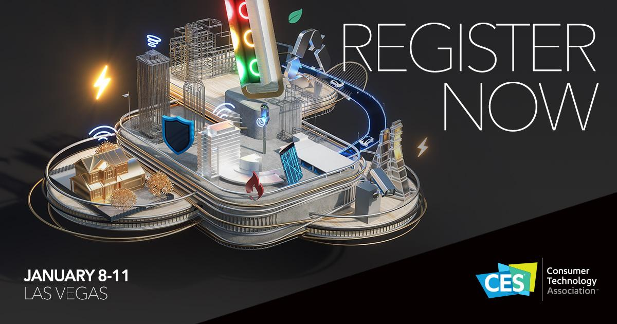 Don't forget to register for #CES2019! You won't want to miss out on the global stage for innovation with all the latest in tech https://t.co/DbHghIADJj