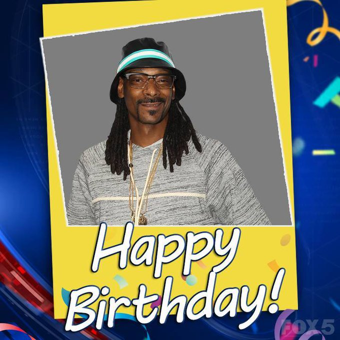 HAPPY BIRTHDAY DOGGFATHER! Rapper Snoop Dogg turns 47 today!