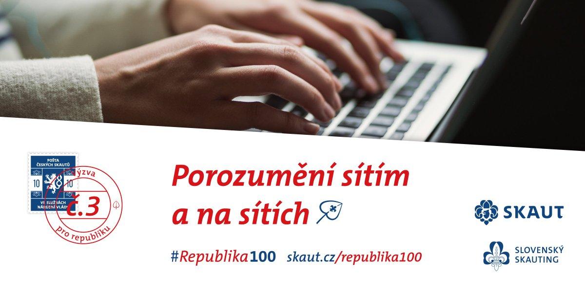 d5d166ec49 Naše další výzva se proto týká právě jich. http://www.skaut.cz/Republika100  . #skaut #Republika100pic.twitter.com/ms3fivrzPt