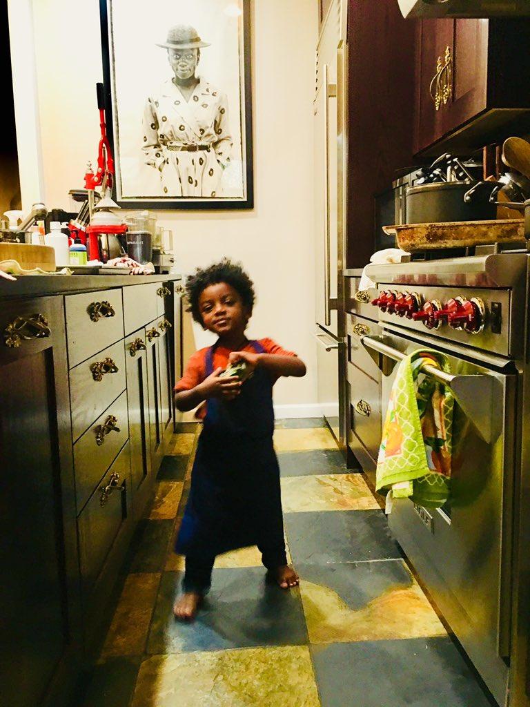 At home or on the road, I love getting to spend time with my favorite sous chef. #zion #family #chef #weekend