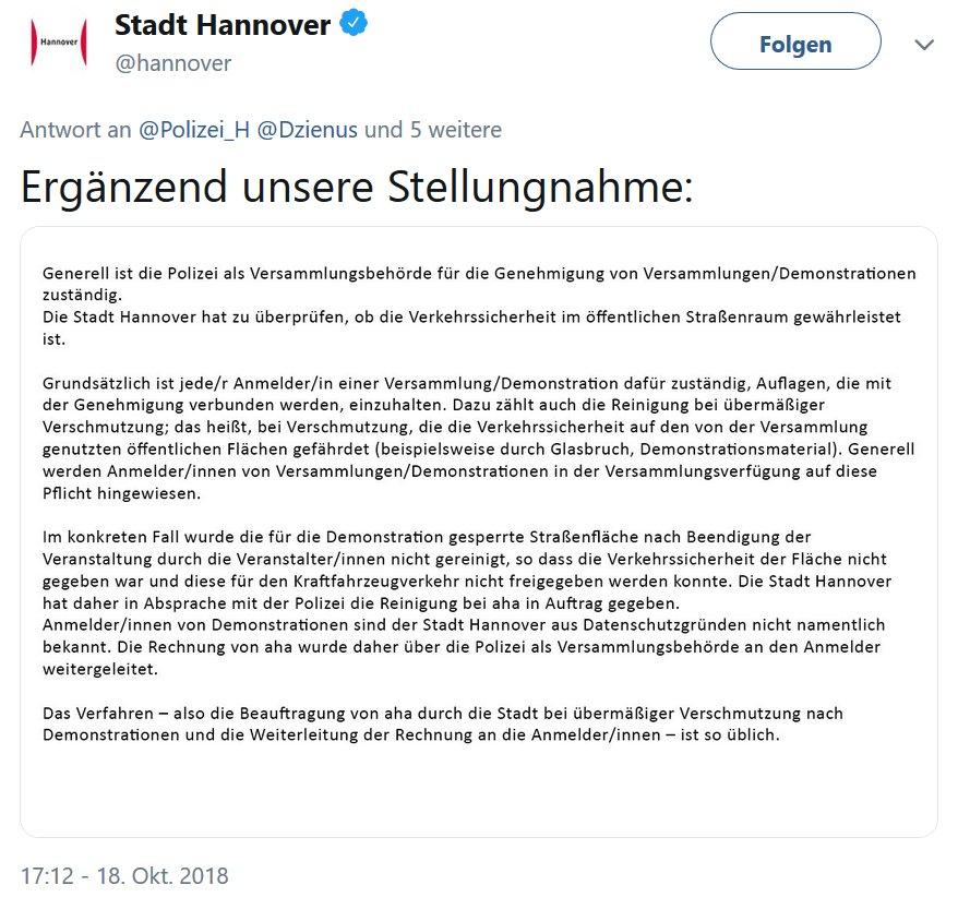 Polizei Hannover (@Polizei_H) | Twitter