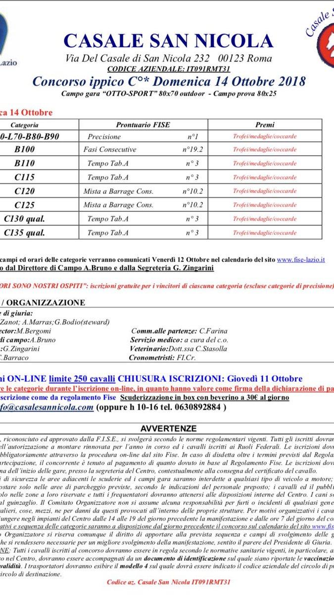 Fise Lazio Calendario.Fise Lazio Calendario Salto Ostacoli Calendario 2020