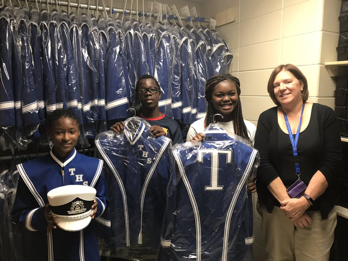 Teaneck High School On Twitter Our New Band Uniforms Are Finally
