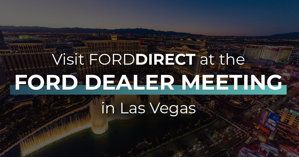 Ford Dealership Las Vegas >> Forddirect On Twitter In One Week We Ll See You At The