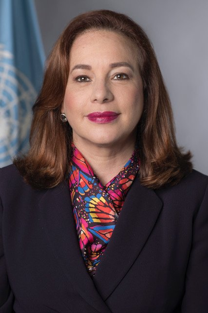 How can the United Nations stay relevant? Columbia World Leaders Forum welcomes President of the UN General Assembly, María Fernanda Espinosa [@mfespinosaEC]. Shell speak in Low Library, Tues 10/09. #UNGA ow.ly/iwbN30m9kER