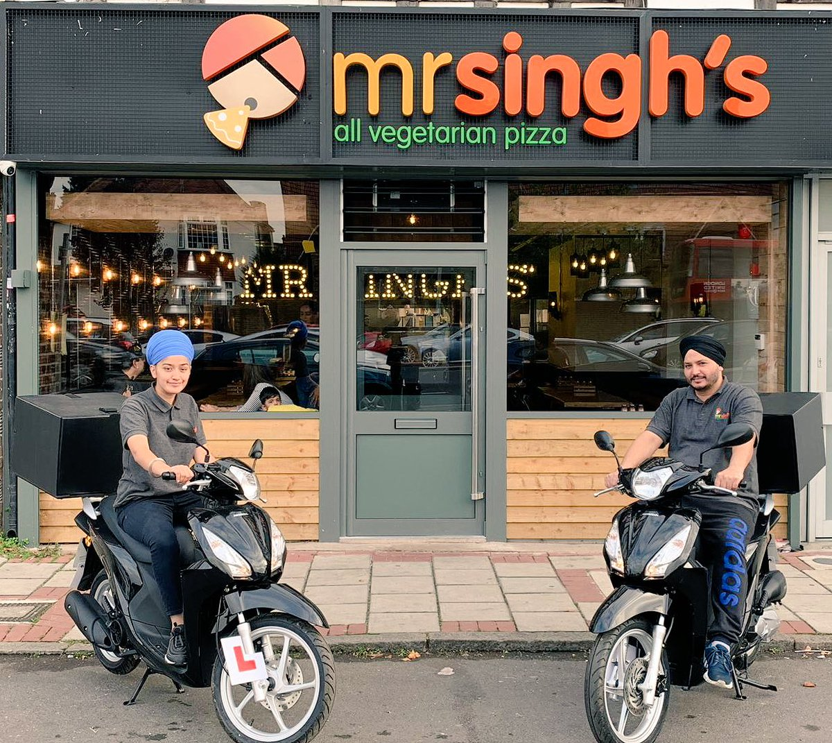 Mr Singhs Pizza On Twitter Ready To Deliver Fab Veggie
