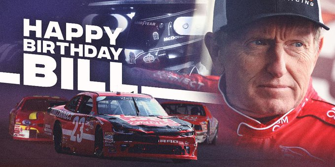 Sunday\s finish was an early present!   Happy Birthday to 2015 NASCAR Hall of Fame inductee, Bill Elliott!