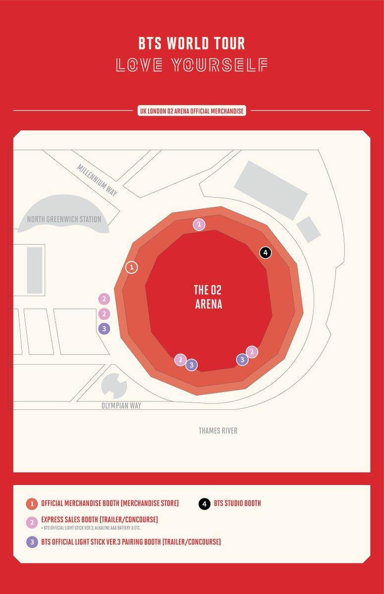 #BTS WORLD TOUR 'LOVE YOURSELF' 런던공연 공식 MD 판매 및 BTS STUDIO 운영 안내 (+ENG) (https://t.co/bDTSD9Ahml)
