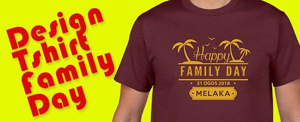 Istudio Print On Twitter Koleksi Design Tshirt Family Day Untuk