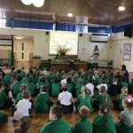 We were very fortunate this morning to have our harvest celebration assembly with Chantelle from the new life church.