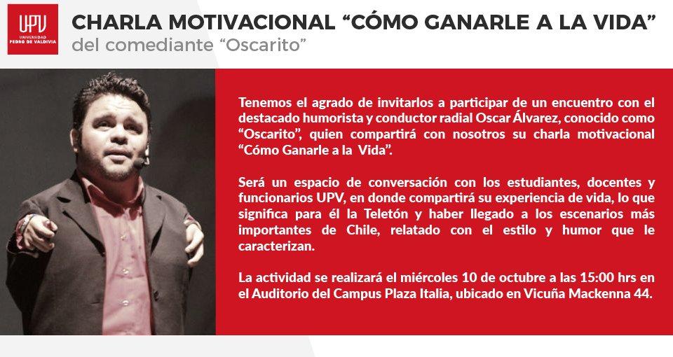 Universidad Pedro De Valdivia S Tweet Los Invitamos A La