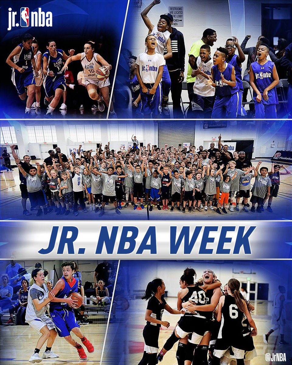 @jrnba Week is here! The initiative this year #HerTimeToPlay, focuses on the importance of female athletes and leaders in sports. 🤗