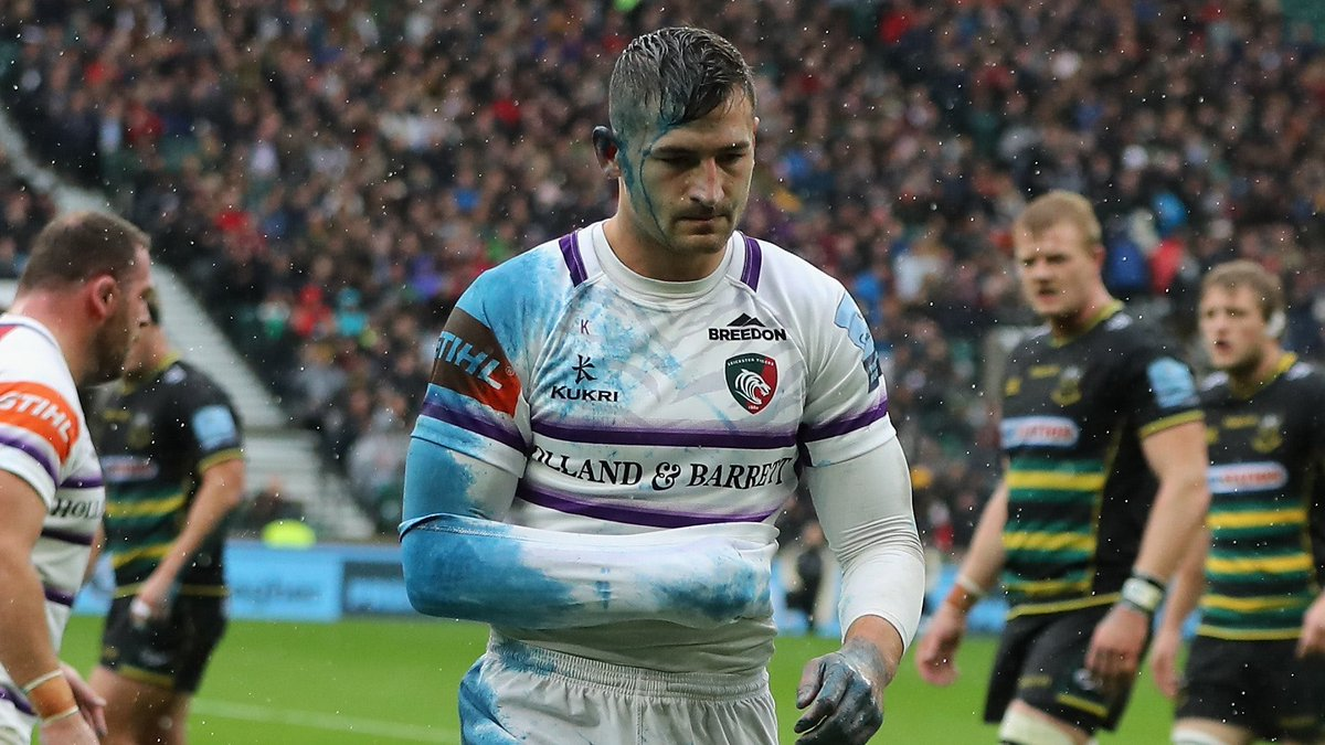 Wasn't a great day at the office for me on Saturday 🤕 but hopefully nothing serious + will work hard to get back on pitch ASAP 🙏. However, it was awesome to be part of a great cause + special day for #robhorne. Also great shift from the @LeicesterTigers 🐯 boys to get the W 🙌