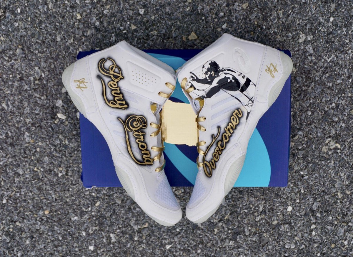 jordan burroughs shoes white