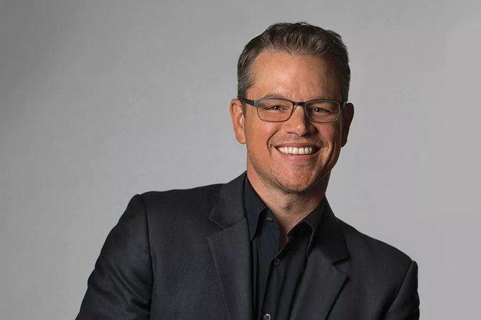 Actor, Matt Damon, Happy Birthday! He is 48 years old today.