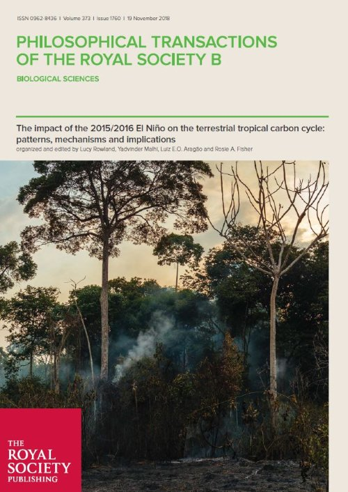 8ba279e4e The impact of the 2015/2016 El Niño on the terrestrial tropical carbon cycle:  patterns, mechanisms and implications | new theme issue from @ymalhi and ...