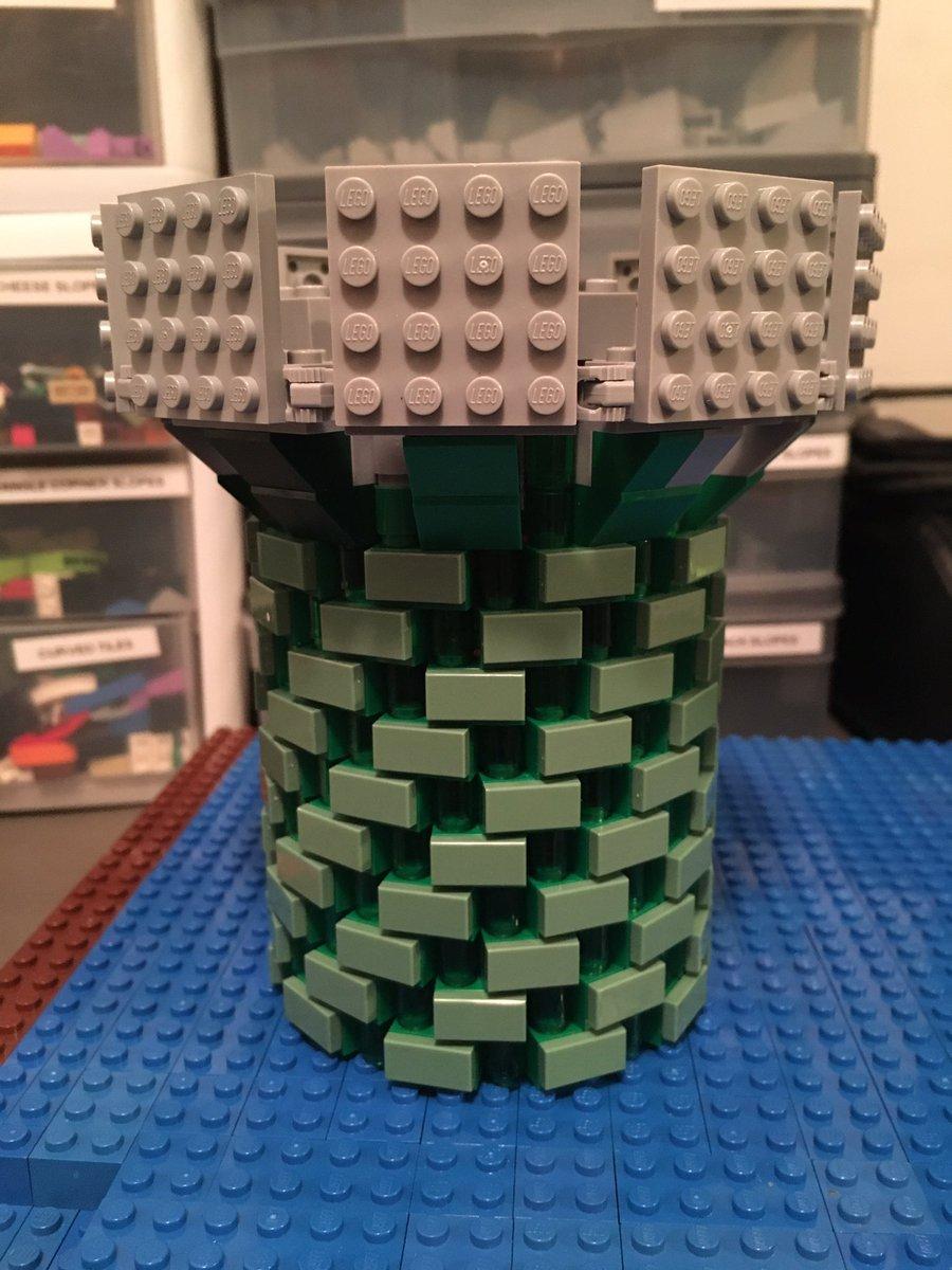 3 Tan Minifigure Back Pack Baskets ~ Lego  ~ NEW ~ Castle